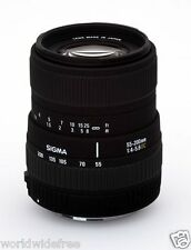 SIGMA 55-200mm 1:4-5.6 DC, Pentax Mount, JAPAN Brand New Telephoto Zoom
