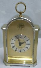 Vintage Swiza? Tempus Fugite Gold Mantle Carraige Clock Timemaster West Germany