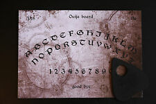 Ouija Spirit Board game & Planchette with instruction EVP Ghost hunt Magic Pagan