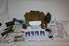 2 Day Emergency Camping Military Army Outdoor Survival Kit Hunting Zombie 48 Hr