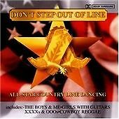 All State Country Line Dancing, Don't Step Out of Line, Very Good CD