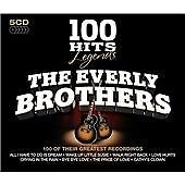 The Everly Brothers - 100 Hits Legends (5CD Boxset, 2010) Immaculate