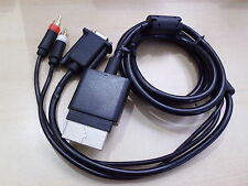 Componente Hd Av Vga hdav Óptico Digital Monitor De Audio Lead Cable Para Xbox 360