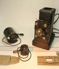Vintage Leitz Projector in Original Case and Other Accessories in Good Condition