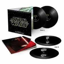 John Williams Star Wars The Force Awakens Black Vinyl Hologram New & Sealed