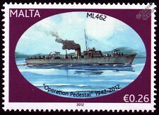 HMS ML462 Fairmile B Motor Launch Warship WWII Malta Convoys Stamp