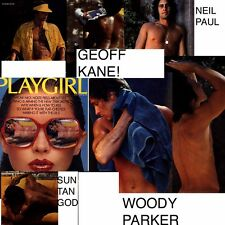 PLAYGIRL 4-77 APRIL 1977 GEOFF KANE SUNTAN STUD IN SPEEDOS FRATBOY NEIL WOODY P
