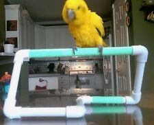 NEW PVC **Simple and Easy Perch**  Birds Love Them  FREE SHIPPING