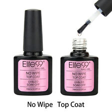 Elite99 Soak Off No Wipe Top Coat UV LED Gel Nail Polish Nail Art Manicure 10ml