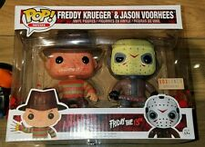Funko Pop Bloody Freddy Kruger & Jason Voorhees 2-Pack Box Lunch Exclusive