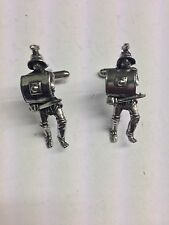 Roman Gladiator Thracian WE-GP4 Fine English Pewter Cufflinks