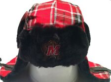 New Top of the World Maryland Terrapins  Winterize Plaid Trapper Hat Youth 8-20