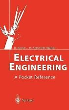 Electrical Engineering : A Pocket Reference by Ralf Kories and Heinz...