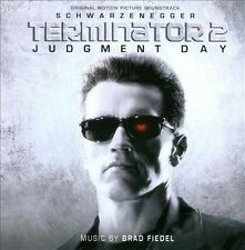 Terminator 2: Judgment Day Motion Picture Soundtrack UK CD by Brad Fiedel