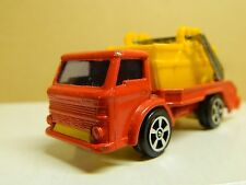 Vintage CORGI JUNIORS FORD Skip Truck 1/100 Red & Yellow Nice Loose Cond. HTF *