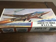 airfix 1/72 488 f111a red stripe vintage model aircraft kit contents sealed