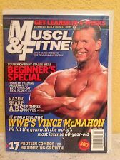 MUSCLE & FITNESS MAGAZINE APRIL 2006 WWE VINCE MCMAHON BEGINNER'S SPECIAL ISSUE