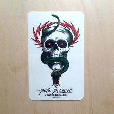 Mike McGill sticker Powell Peralta McTwist 540 Tony Hawk Mullen skull snake
