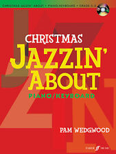 Christmas Jazzin About with CD Jazz Christmas Piano Solo FABER Music BOOK & CD