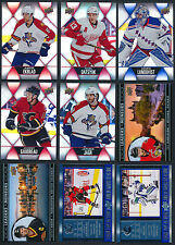 2016-17 Tim Horton's Hockey Cards  4 for $1.00  (see list)