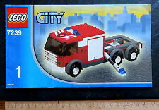 Lego receta City 7239-1 para el feuerwehrlöschzug, 24 pp., 2005