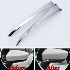 Chrome Car Side Mirror Cover Rearview Rear Styling Trim For 14-16 Mazda 6 ATENZA