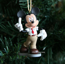 Disney Mickey Mouse Clubhouse Carwash Christmas Ornament PVC Figure