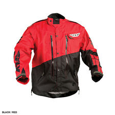 Fly Racing Patrol MX BMX motorcycle jacket adult men M medium red black 366-682M