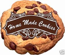 """Chocolate Chip Cookie Home Made Decal 14"""" Concession Food Truck Restaurant"""