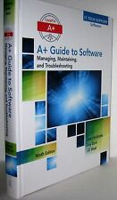 A+ Guide to Software by Jean Andrews 2016 Hardcover / Mixed Media BRAND NEW Book