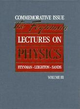 The Feynman Lectures on Physics: Commemorative Issue, Volume 3: Quantum Mechanic