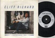"""CLIFF RICHARD Remember Me  7"""" Ps, B/W Another Christmas Day, Em 31(Ex-/Ex- Leeve"""
