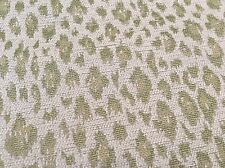 Kravet Green Woven Animal Cheetah Leopard Upholstery Fabric 4.0 yd 31382-123