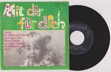 """RUNDFUNK KINDERCHOR BERLIN Mit Dir Für Dich 7"""" Vinyl ETERNA 1973 * RAR"""