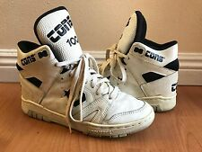Vintage Converse Cons 100 HI Basketball Mens 80s Shoes sz 8
