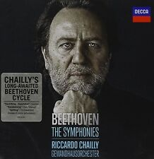 Riccardo/gol Chailly-le sinfonie 1-9 (GA) Ludwig van Beethoven 5 CD NUOVO