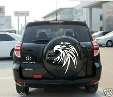 Car Decal Vinyl sticker Spare tire cover Hood decals Eagle for RAV4 #CG293 White