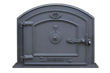 58.5 x 43 cm cast iron fire door clay bread oven doors pizza stove fireplace
