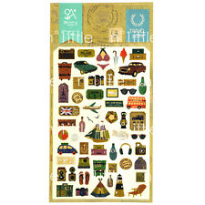 Travel Story Style Diary Deco Stickers Labels Scrapbook Journal SK-19