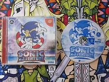 SONIC THE HEDGEHOG DC DREAMCAST NTSC JAPAN COMPLETO EN BUEN ESTADO #2