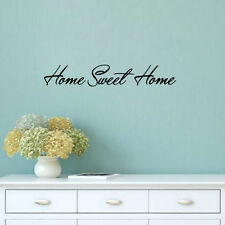 Home Sweet Home Quote Wall Sticker Removable Home Art Decorative Vinyl Art Decor