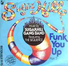 "7"" 1980 KULT IN MINT- ! SUGARHILL GANG BAND Funk You Up"