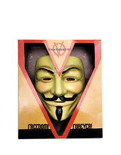 V For Vendetta Mask Style 2, Mens Costume Accessory