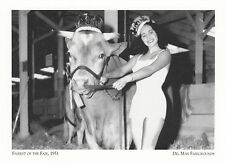 (19151) Tarjeta postal - Del Mar Fairgrounds - Fairest de la Feria 1951