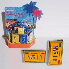 Elektronisches Gas Feuerzeug FLORIDA Autokennzeichen USA Nummernschild  NEU OVP