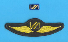 Vnukovo Russian Defunct Airlines PILOT Wings Patch & Logo Badge
