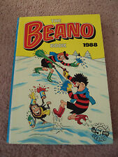 The Beano Book Annual 1988 Dennis the Menace Retro Vintage Comic Christmas Gift
