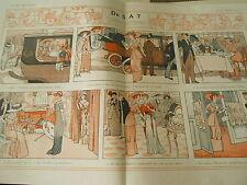 De 5 à 7 la vie d'une Parsiennes Print Art Déco 1910