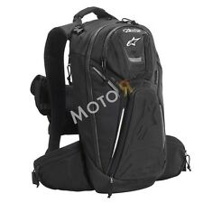 Alpinestars Tech Aero - motorcycle backpack with rain cover - black backpack