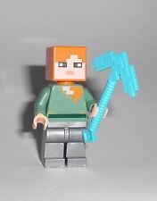 LEGO Minecraft - Alex (21125) - Figur Minifig Dschungel Baumhaus Steve 21125